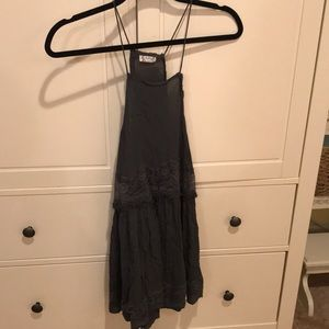 Free People Dresses - Free People Grey Slip Dress